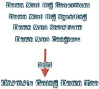 Down with taxes,